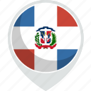 country, flag, republic, dominican, nation