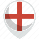 country, england, flag, nation icon