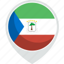 country, equatorial, flag, guinea, nation icon