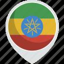 country, flag, ethiopia, nation