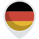 country, flag, germany, nation