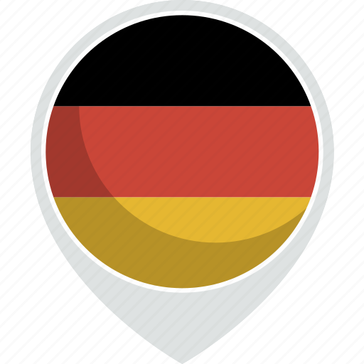 country, flag, germany, nation icon