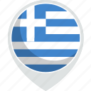 country, flag, greece, nation