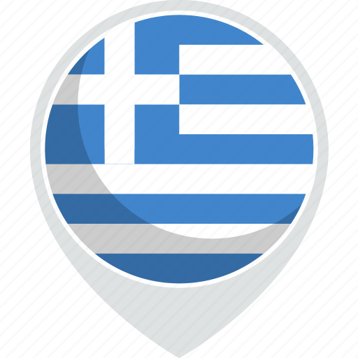 country, flag, greece, nation icon