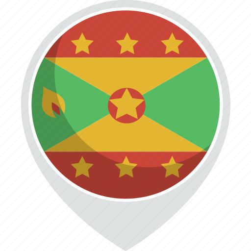 country, flag, grenada, nation icon
