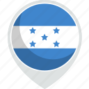 country, flag, honduras, nation icon