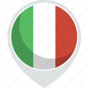 country, flag, italy, nation