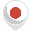 country, flag, japan, nation icon