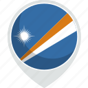 country, flag, islands, marshall, nation icon