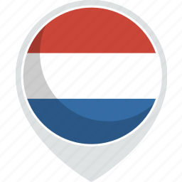 country, flag, nation, netherlands icon