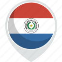 paraguay, country, flag, nation