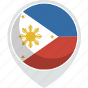 country, flag, nation, philippines