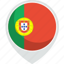 country, flag, nation, portugal, world