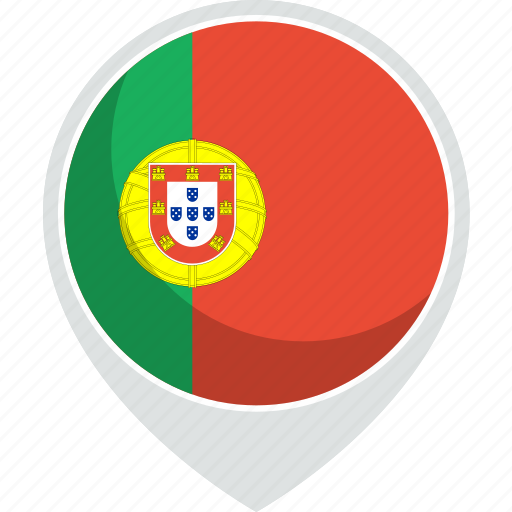 country, flag, nation, portugal, world icon