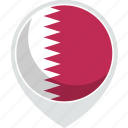 country, flag, nation, qatar
