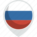 country, flag, nation, russia