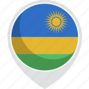 country, flag, nation, rwanda