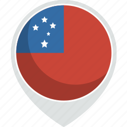 country, flag, nation, samoa icon