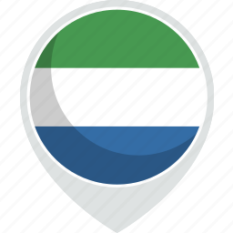country, flag, leone, nation, sierra icon