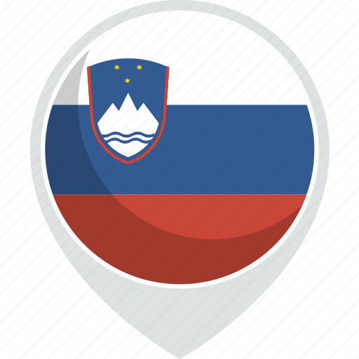 country, flag, nation, slovenia icon