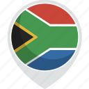 africa, country, flag, nation, south