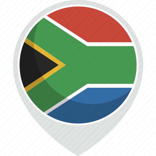 africa, country, flag, nation, south icon