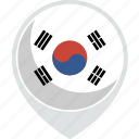 country, flag, korea, nation, south