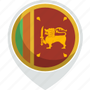 country, flag, lanka, nation, sri icon