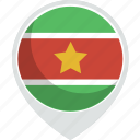 country, flag, nation, suriname