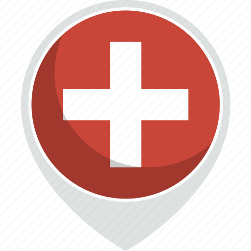 country, flag, nation, switzeland icon
