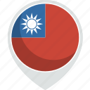 country, flag, nation, taiwan