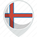 country, faroe, flag, islands, nation, the icon