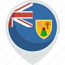 caicos, country, flag, islands, nation, the, turks icon