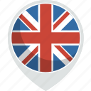 kingdom, united, country, nation, flag, uk
