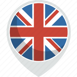 country, flag, kingdom, nation, uk, united icon