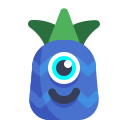 cold, emoji, pineapple icon