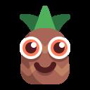 chocolate, pineapple, sweet icon