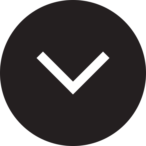 arrow, declining, descending, down, downhill, downward, fill icon