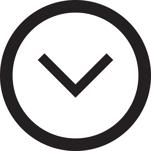 arrow, declining, descending, down, downhill, downward, outline icon