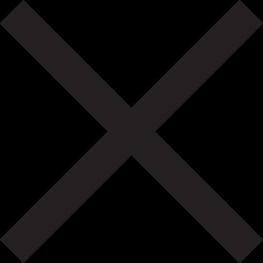 close, error, exit, failure, fault, invalid, null icon