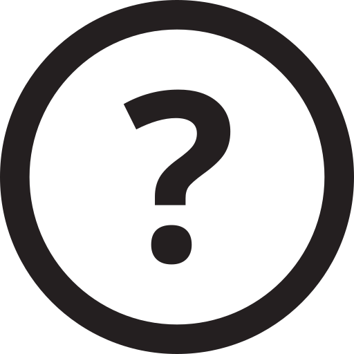 examination, inquiry, interrogation, investigation, outline, query, question icon