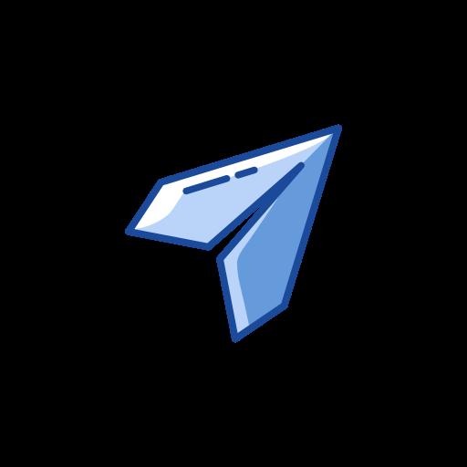 arrow, arrow head, plane, send icon