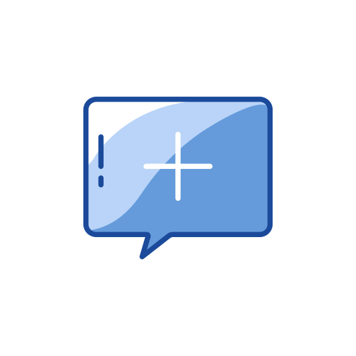add, add message, message, plus icon