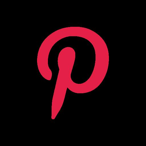 logo, pinterest, pinterest logo, social media icon