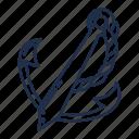 ship, anchor, boat, sea, beach