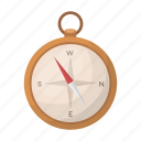 compass, direction, illustration, map, orientation, travel
