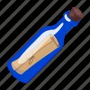bottle, cork, help, message, note, sos