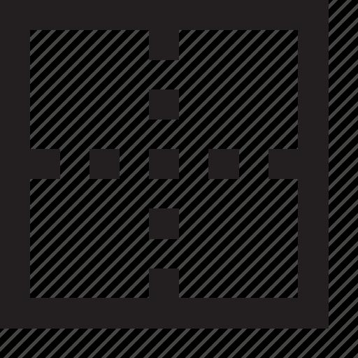 align, center, centralize icon