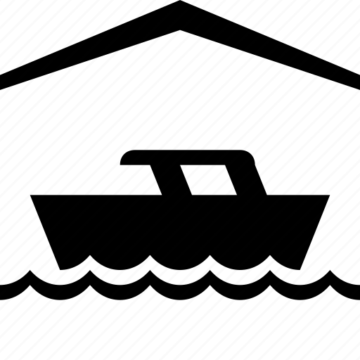 boat, house, marine icon
