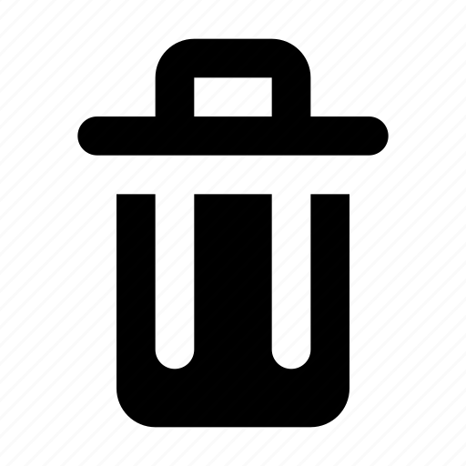 Bin, delete, erase, exclude, exclusion, remove, trash icon - Download on Iconfinder